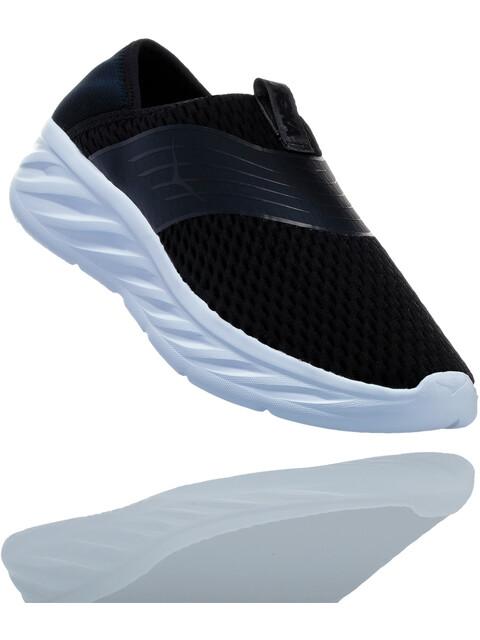 Hoka One One Ora Recovery Shoes Women Black/Phantom